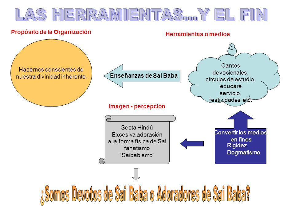 LAS HERRAMIENTAS...Y EL FIN