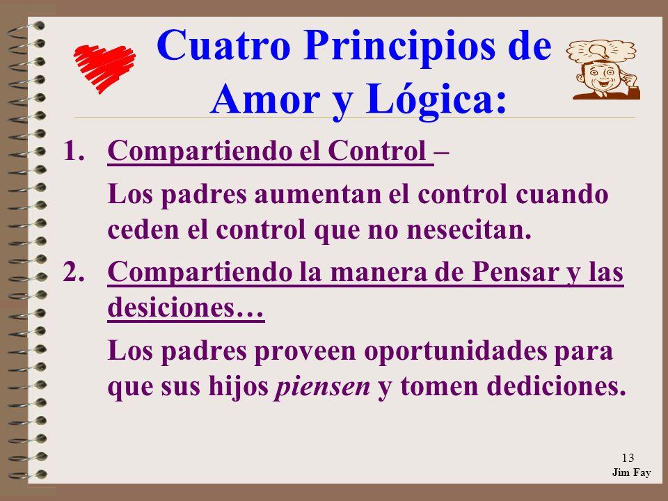 Cuatro Principios de Amor y Lógica: