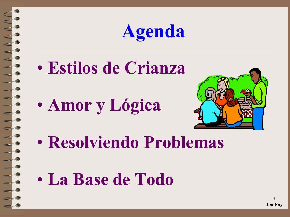 Agenda Estilos de Crianza Amor y Lógica Resolviendo Problemas