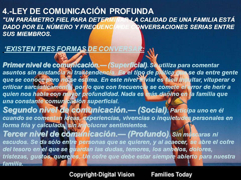 4.-LEY DE COMUNICACIÓN PROFUNDA