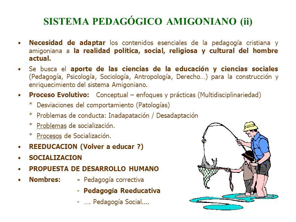 SISTEMA PEDAGÓGICO AMIGONIANO (ii)