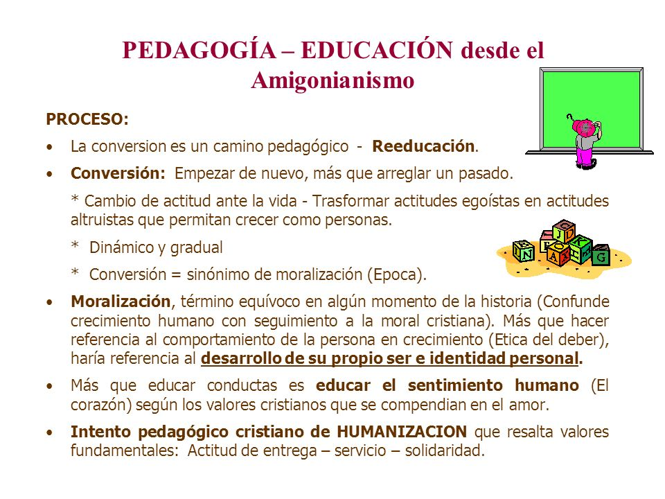 PEDAGOGÍA – EDUCACIÓN desde el Amigonianismo