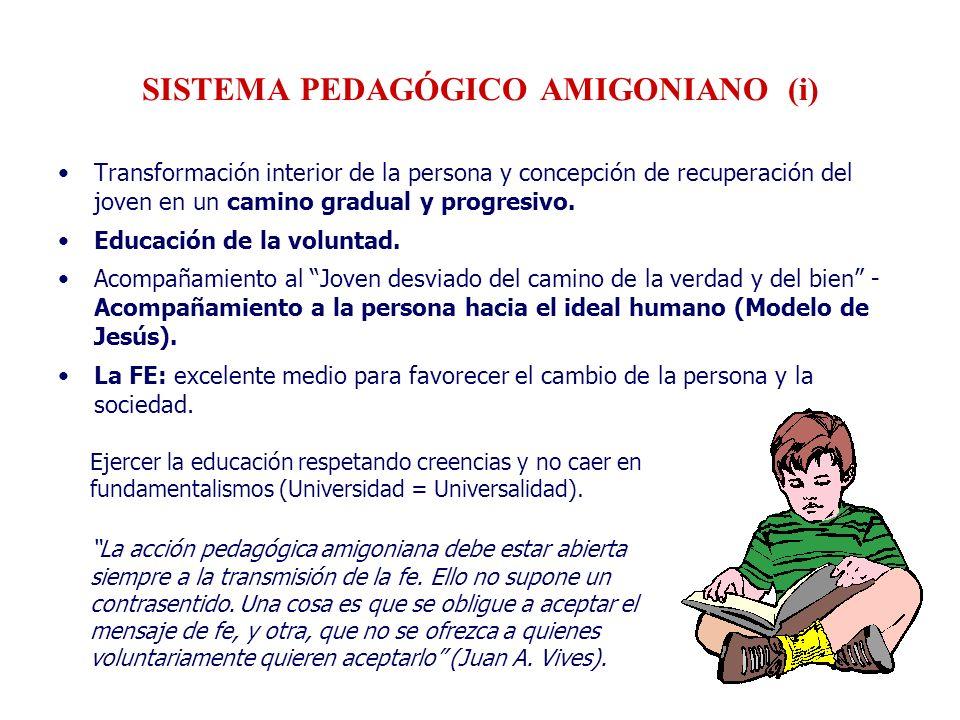 SISTEMA PEDAGÓGICO AMIGONIANO (i)
