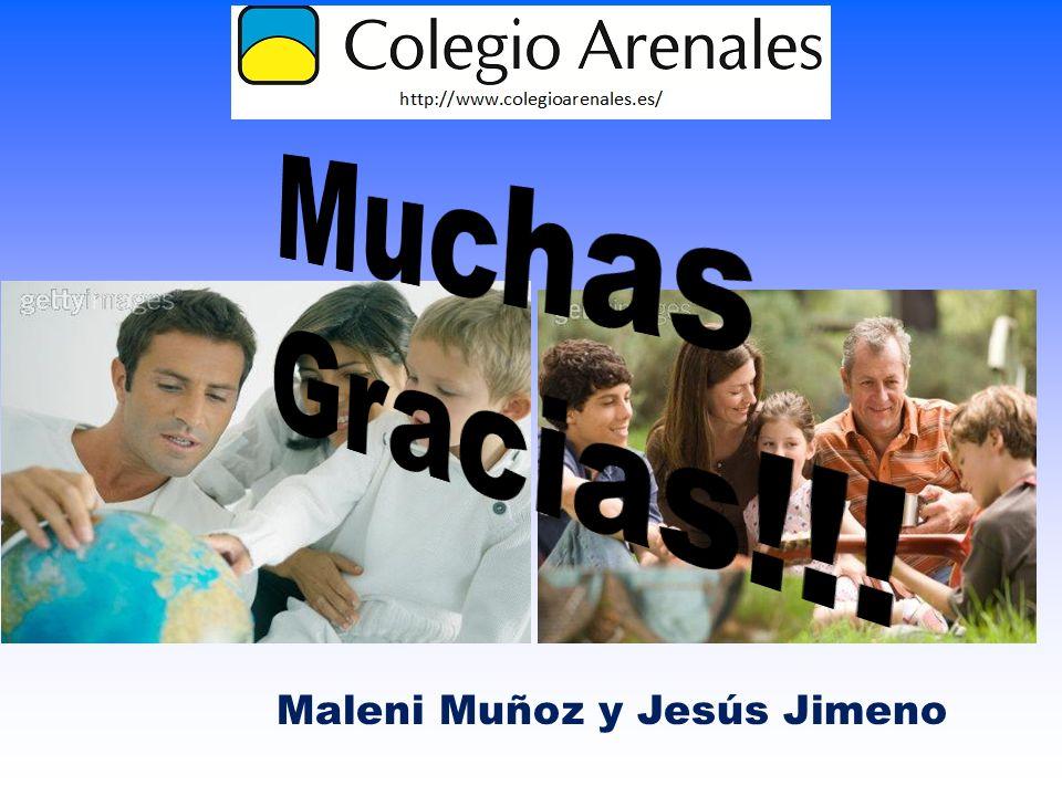 Muchas Gracias!!! Maleni Muñoz y Jesús Jimeno