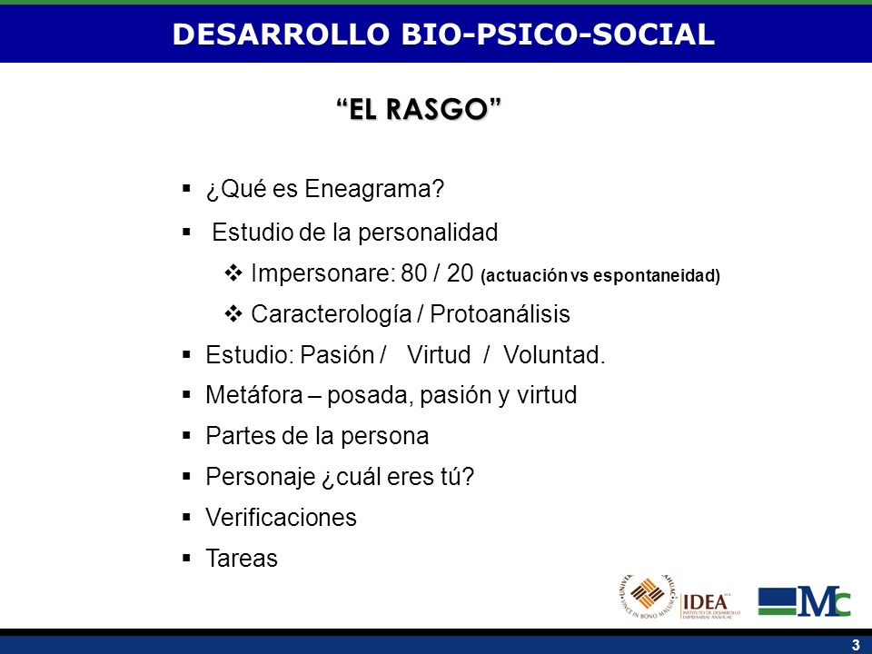 DESARROLLO BIO-PSICO-SOCIAL