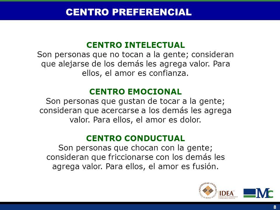 CENTRO PREFERENCIAL CENTRO INTELECTUAL