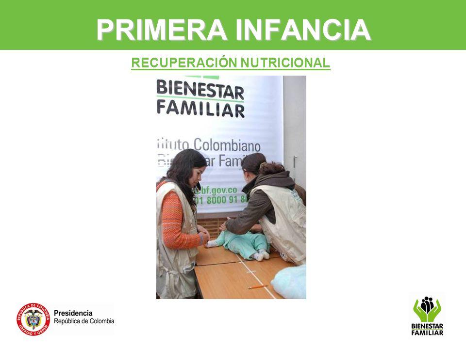 PRIMERA INFANCIA RECUPERACIÓN NUTRICIONAL 16