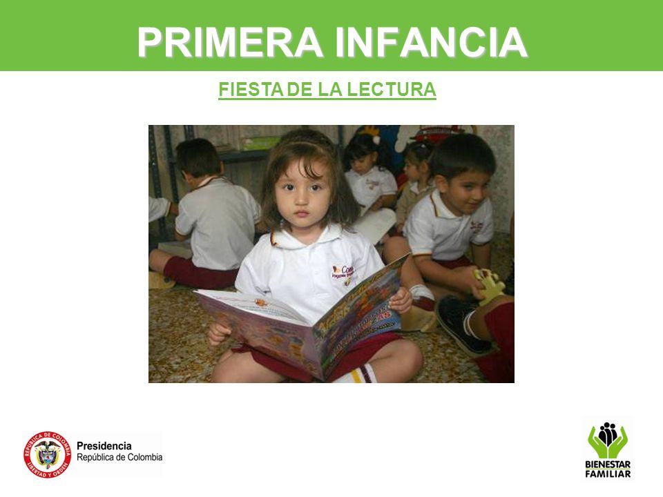 PRIMERA INFANCIA FIESTA DE LA LECTURA