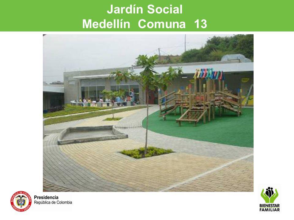Jardín Social Medellín Comuna 13