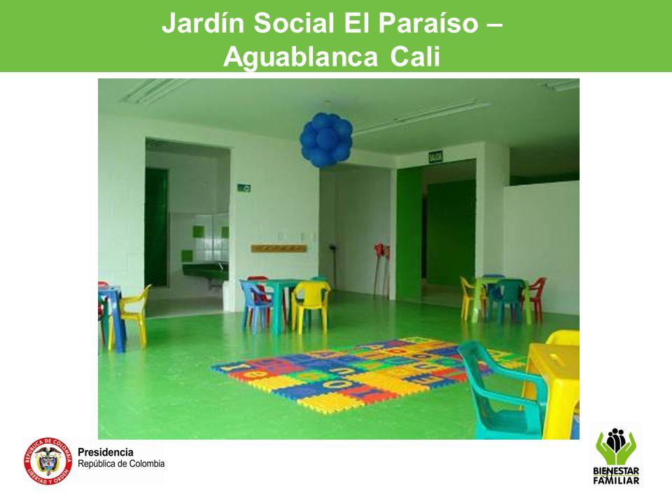 Jardín Social El Paraíso – Aguablanca Cali