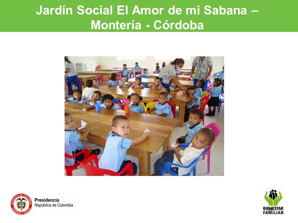 Jardín Social El Amor de mi Sabana – Montería - Córdoba