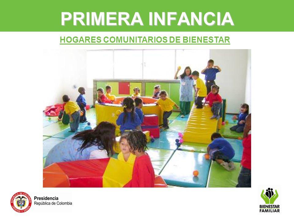 PRIMERA INFANCIA HOGARES COMUNITARIOS DE BIENESTAR 9