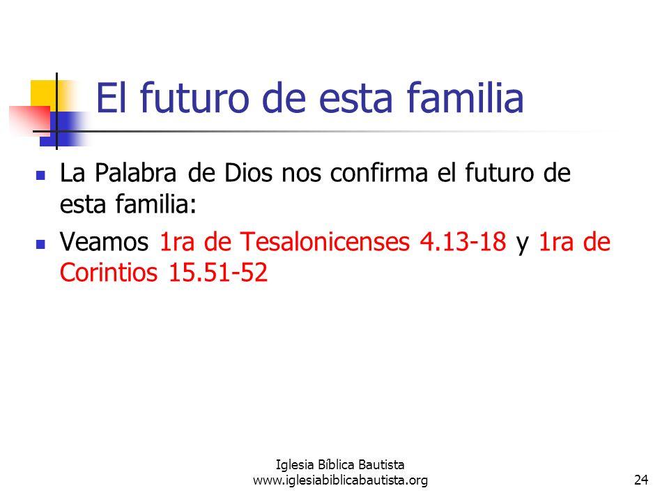 El futuro de esta familia