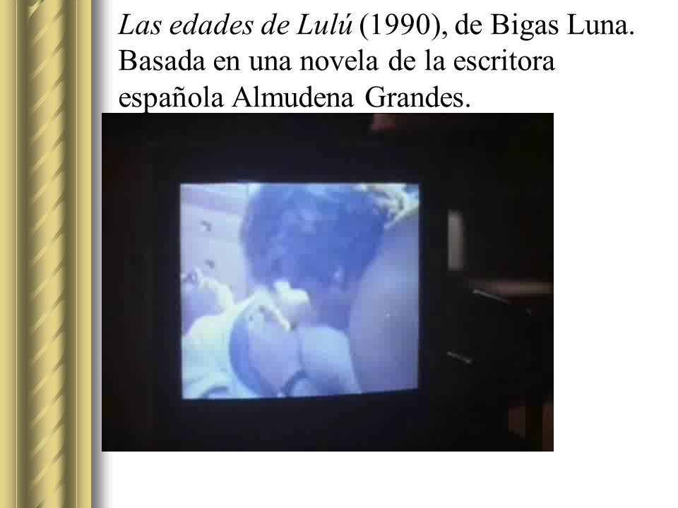 Las edades de Lulú (1990), de Bigas Luna