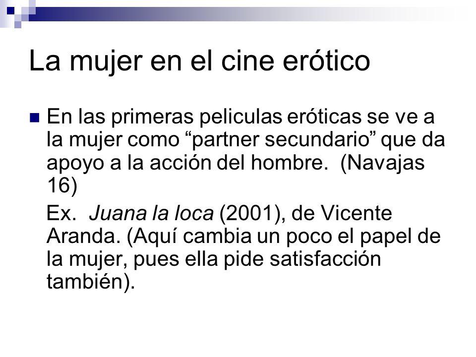 La mujer en el cine erótico