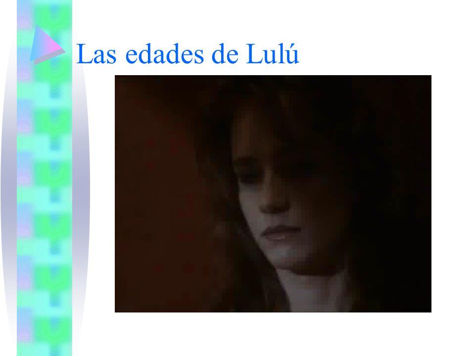 Las edades de Lulú