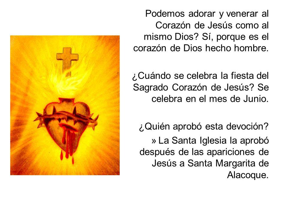 Podemos adorar y venerar al Corazón de Jesús como al mismo Dios