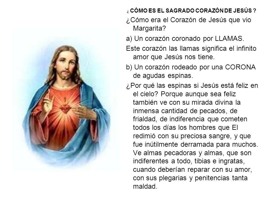 ¿Cómo era el Corazón de Jesús que vio Margarita