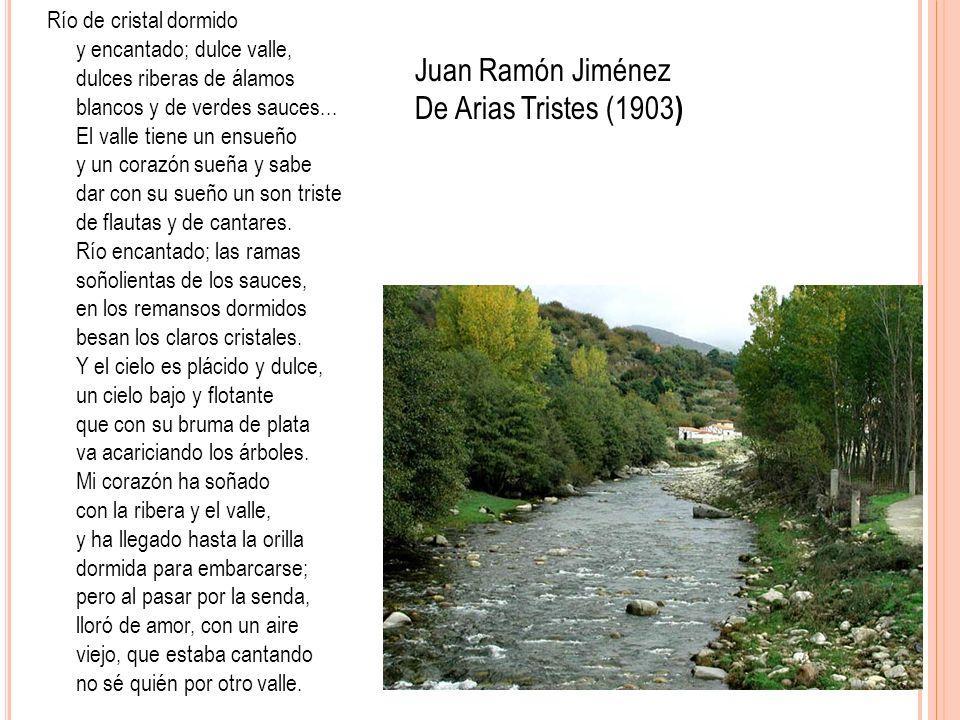 Juan Ramón Jiménez De Arias Tristes (1903)