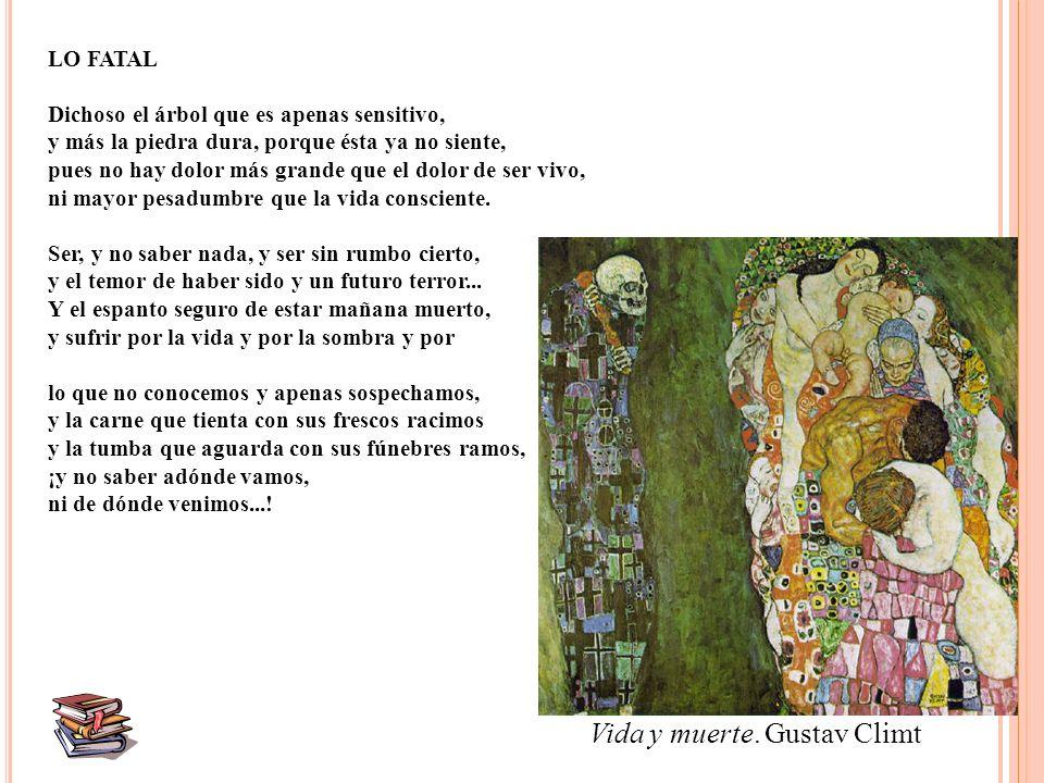 Vida y muerte. Gustav Climt