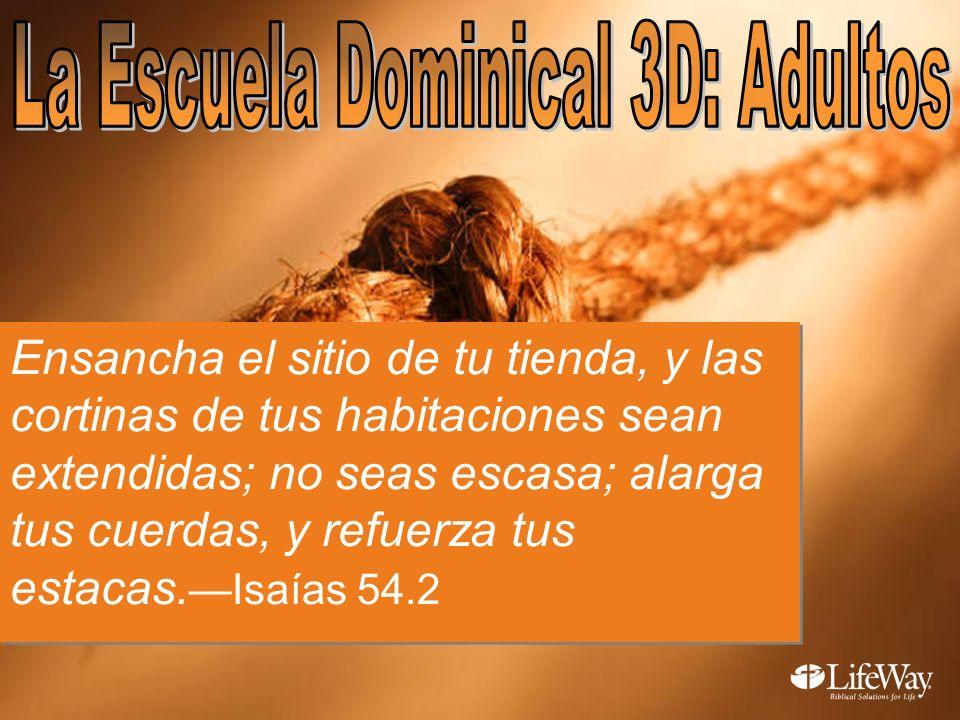 La Escuela Dominical 3D: Adultos