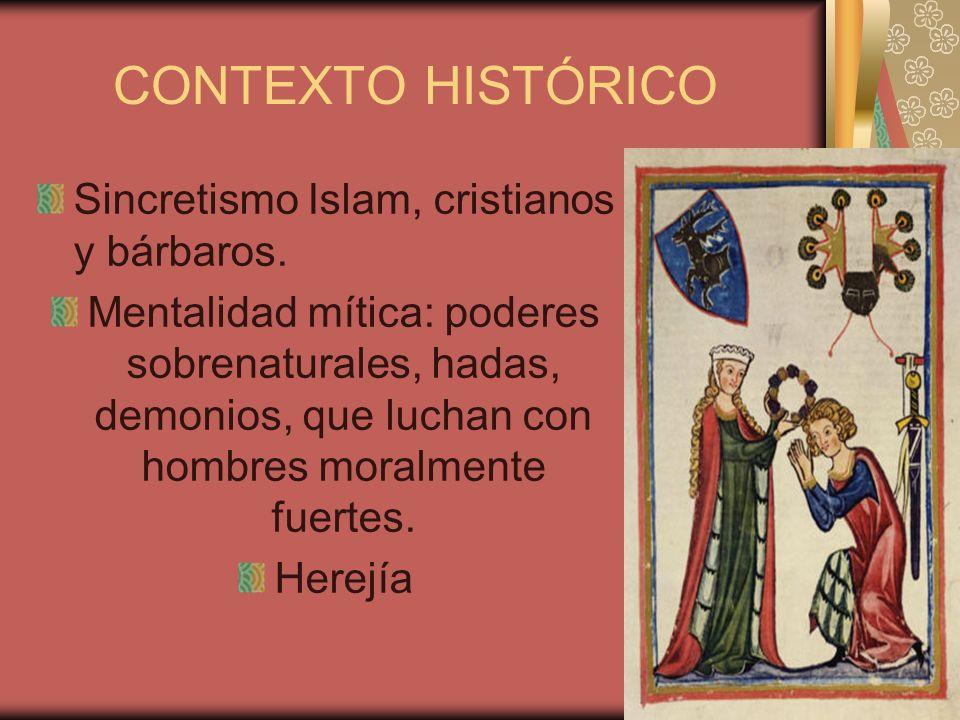 CONTEXTO HISTÓRICO Sincretismo Islam, cristianos y bárbaros.
