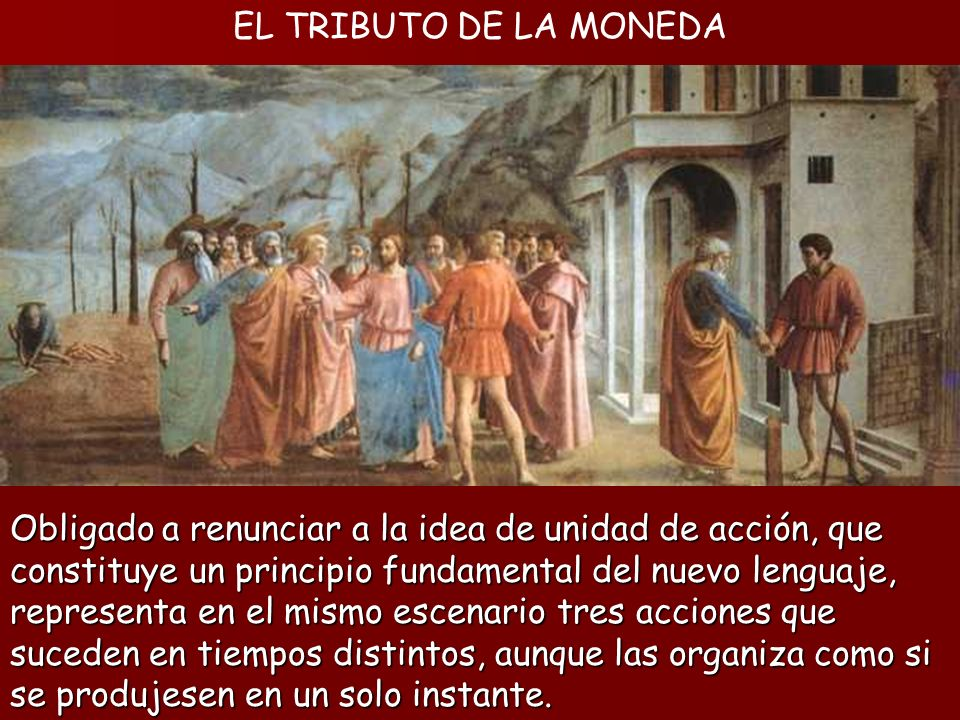 EL TRIBUTO DE LA MONEDA
