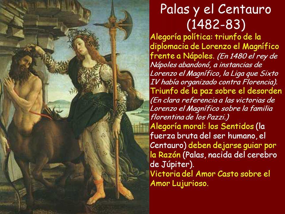 Palas y el Centauro (1482-83)