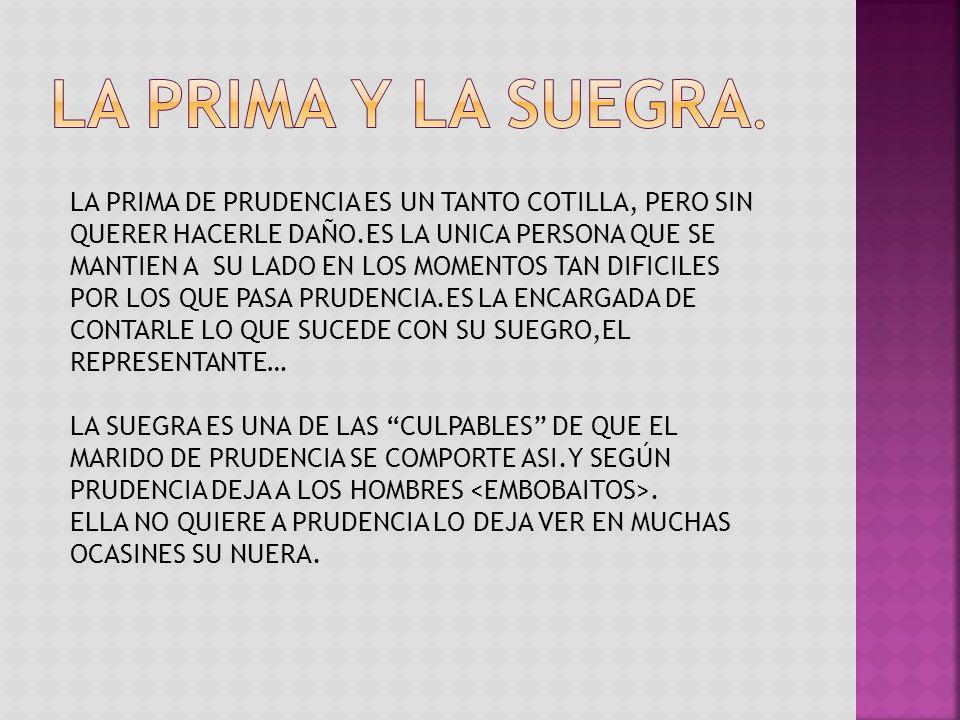 LA PRIMA Y LA SUEGRA.