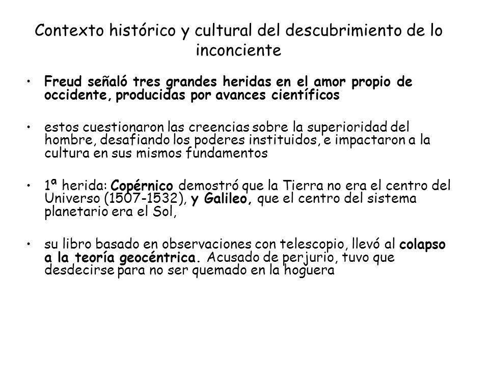 Contexto histórico y cultural del descubrimiento de lo inconciente