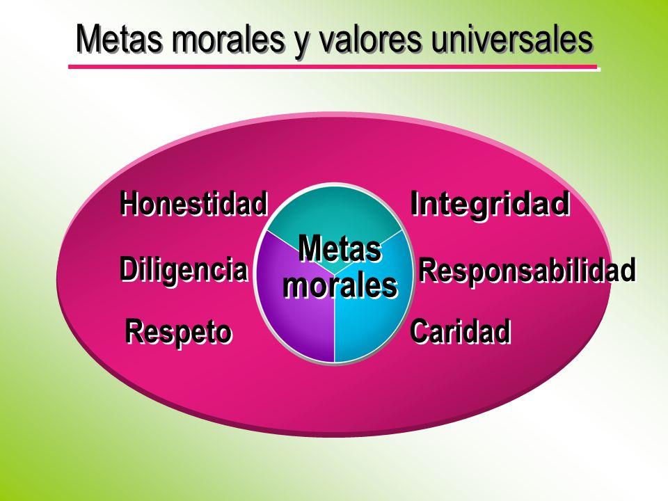 Metas morales y valores universales