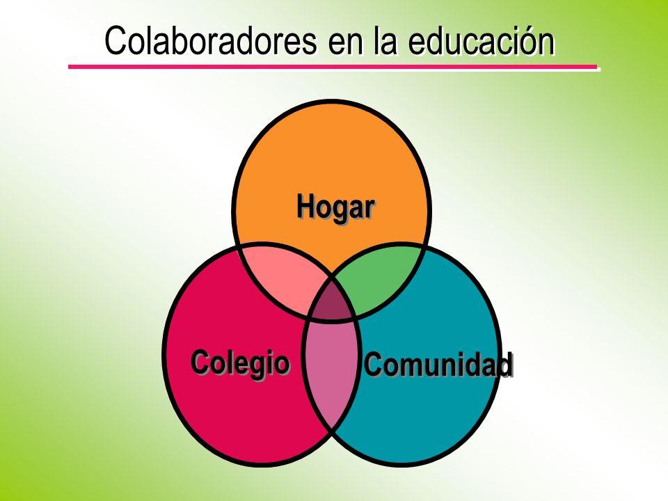 Colaboradores en la educación