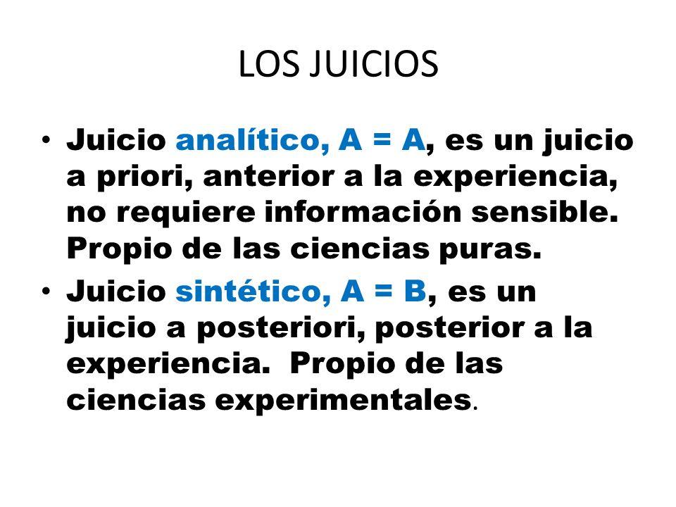 LOS JUICIOS