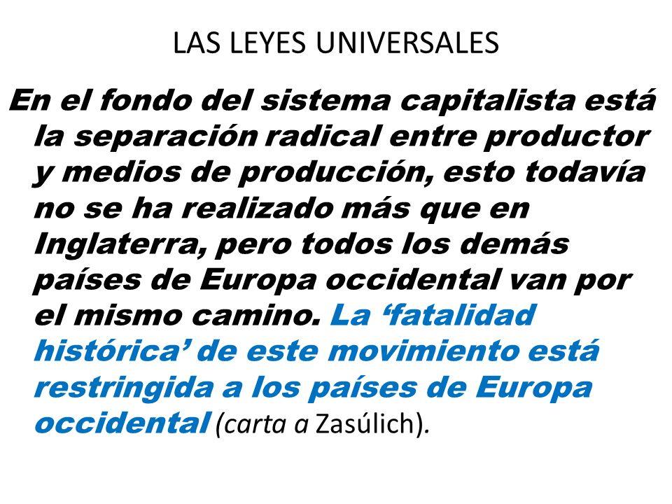 LAS LEYES UNIVERSALES