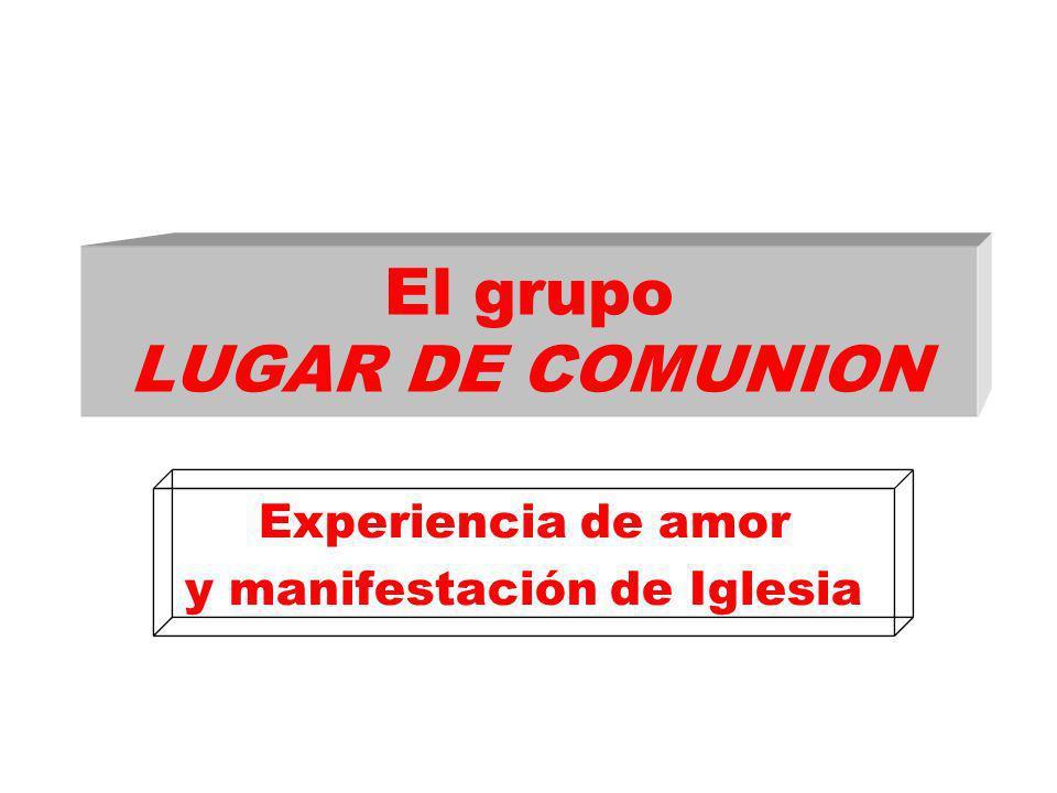 El grupo LUGAR DE COMUNION