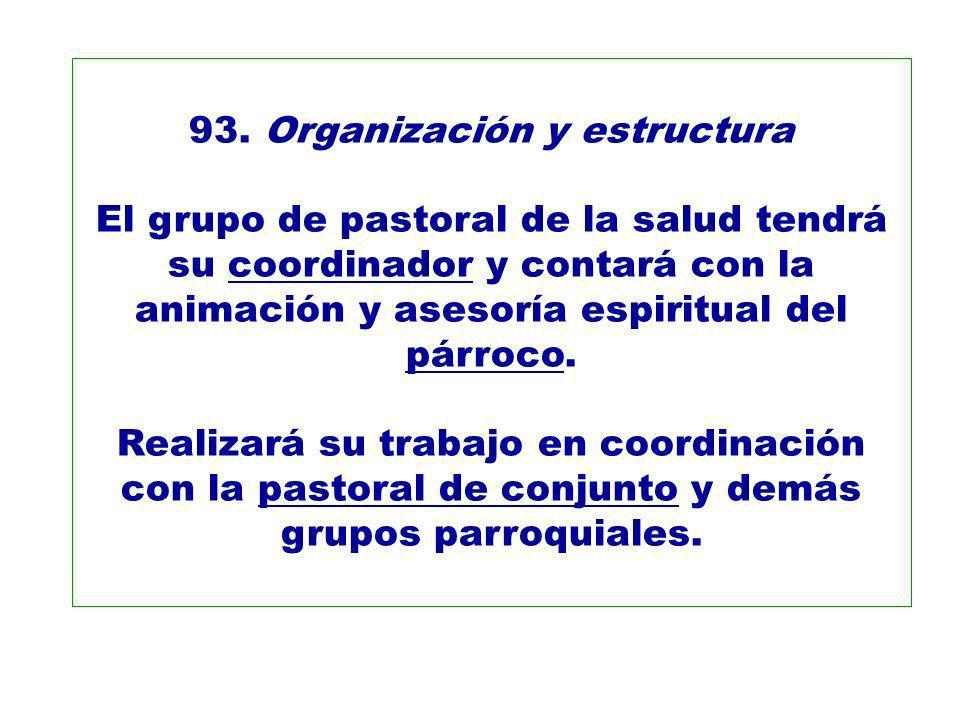 93. Organización y estructura