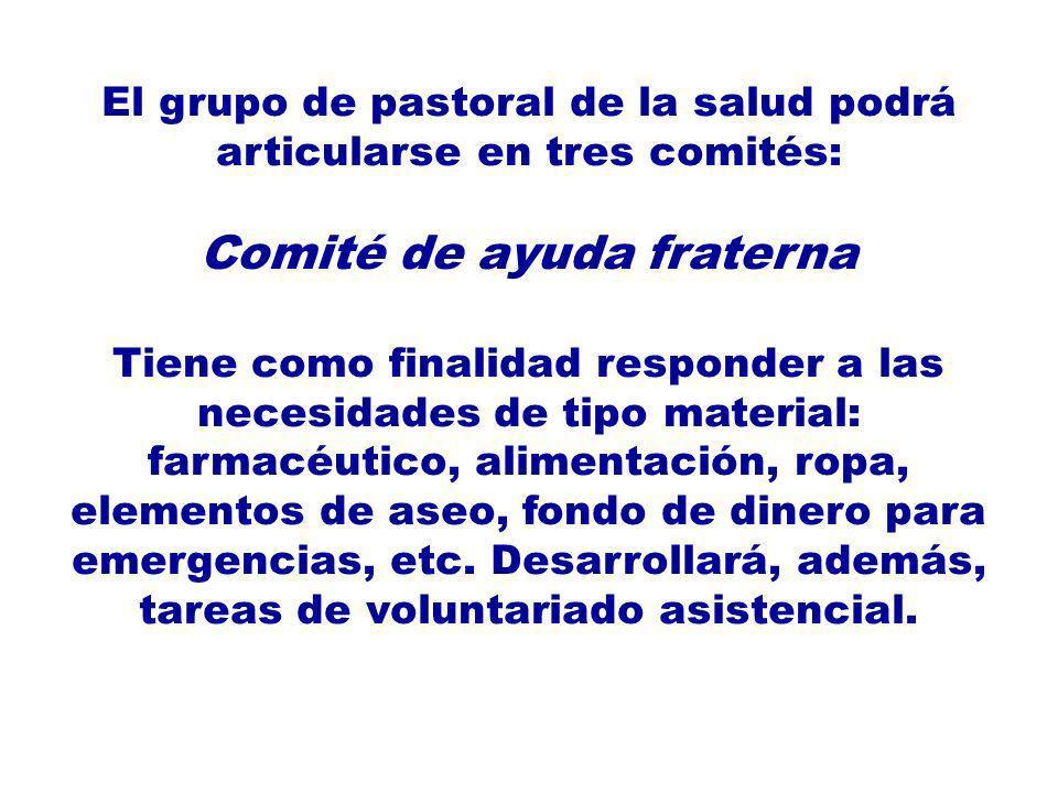 Comité de ayuda fraterna
