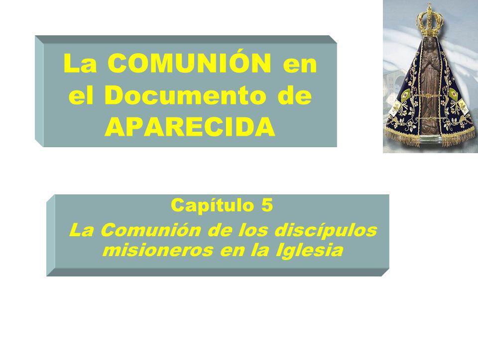 La COMUNIÓN en el Documento de APARECIDA