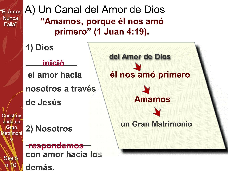 A) Un Canal del Amor de Dios