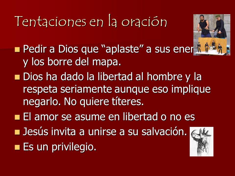 Tentaciones en la oración