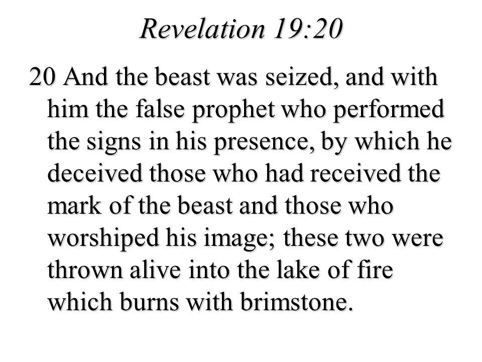 Revelation 19:20