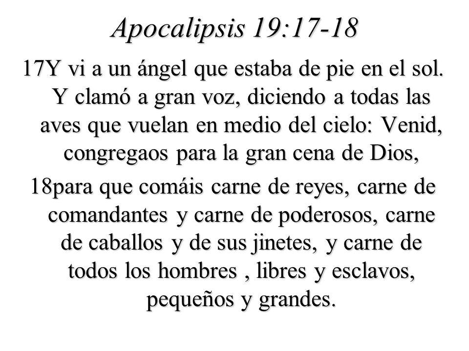 Apocalipsis 19:17-18