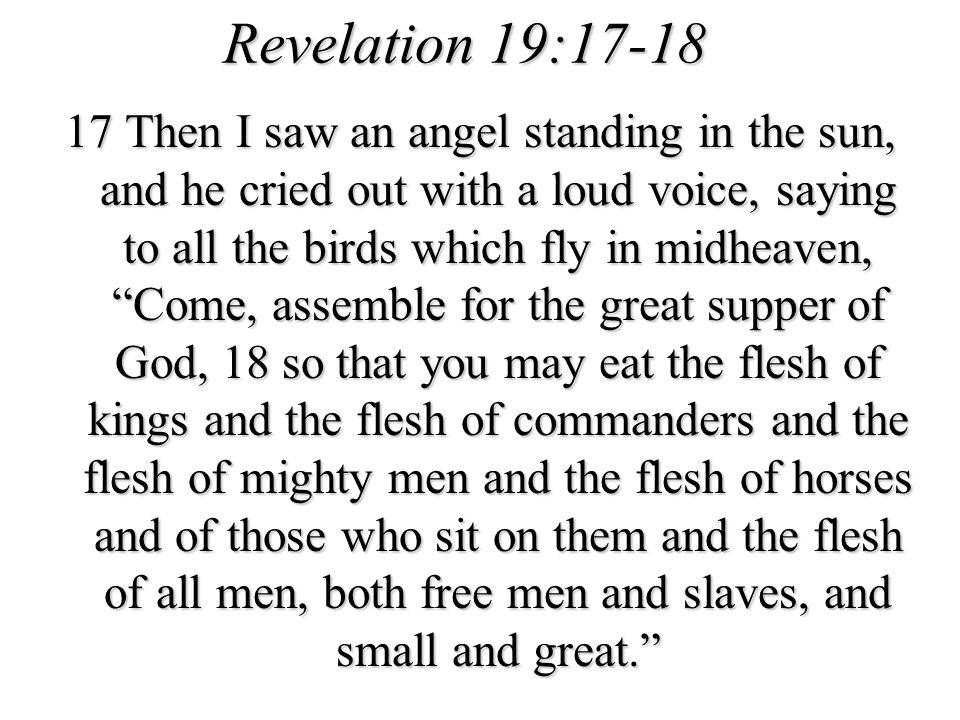 Revelation 19:17-18