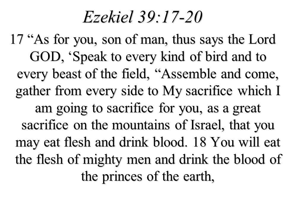 Ezekiel 39:17-20