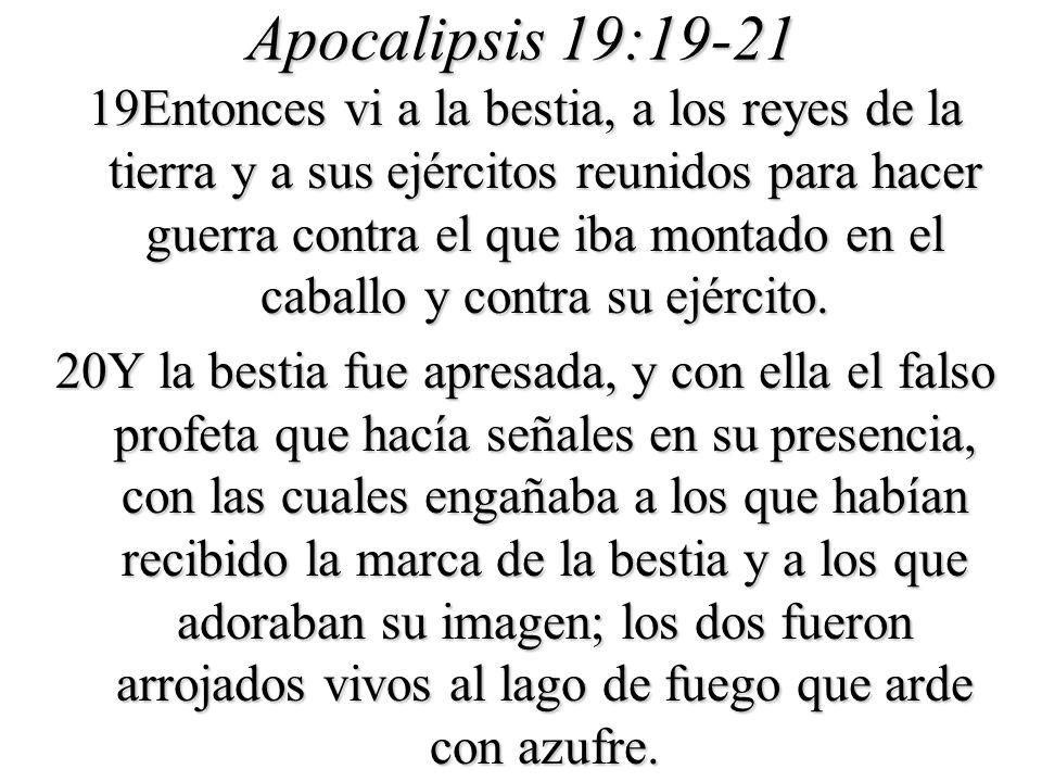 Apocalipsis 19:19-21