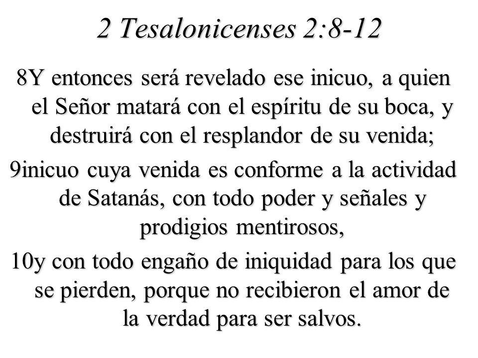 2 Tesalonicenses 2:8-12