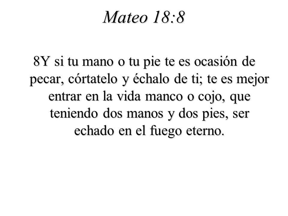 Mateo 18:8