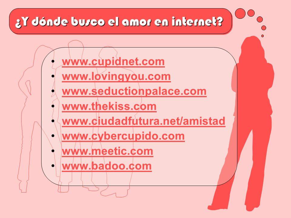 ¿Y dónde busco el amor en internet