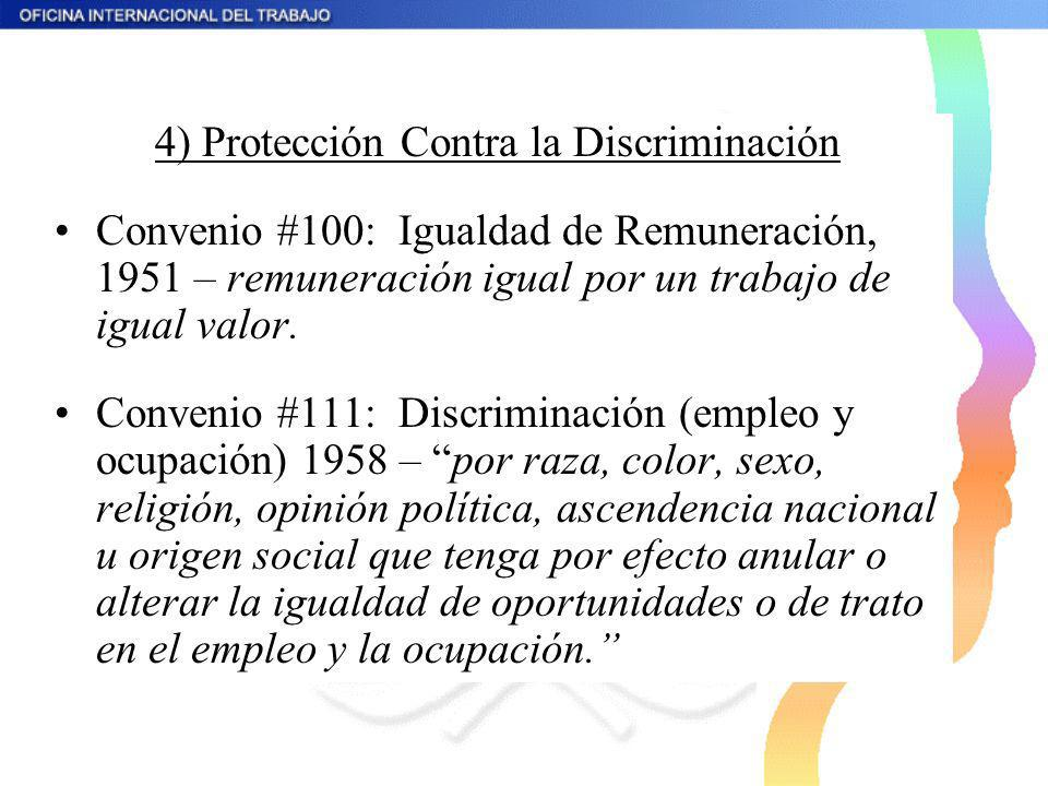 4) Protección Contra la Discriminación