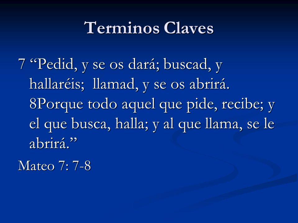 Terminos Claves